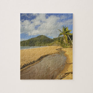 Tidal river at Mission Beach Jigsaw Puzzle