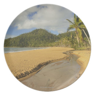 Tidal river at Mission Beach Plate