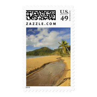Tidal river at Mission Beach Postage Stamp