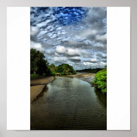 tidal river poster