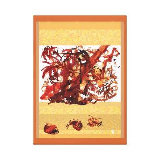 Tidal tangle canvas print