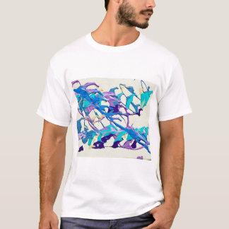 Tidal Wave Abstract T-Shirt