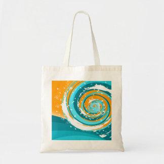 Tidal Wave Canvas Bags