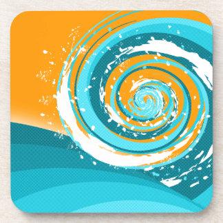 Tidal Wave Beverage Coaster