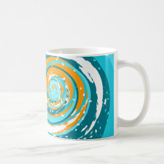 Tidal Wave Classic White Coffee Mug