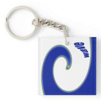 Tidal Wave Keychain