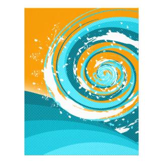 Tidal Wave Letterhead