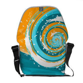 Tidal Wave Messenger Bags
