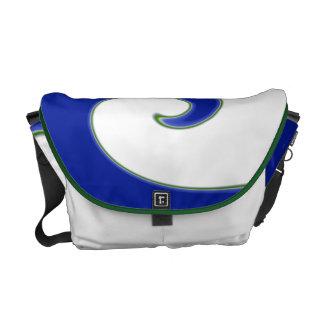 Tidal Wave Messenger Bag