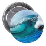 Tidal wave pinback buttons