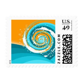 Tidal Wave Postage Stamp