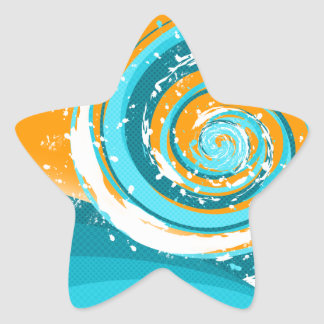 Tidal Wave Star Sticker
