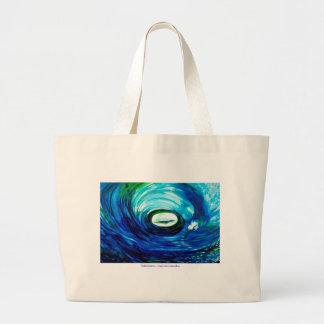 Tidal Wave TOTE Tote Bags