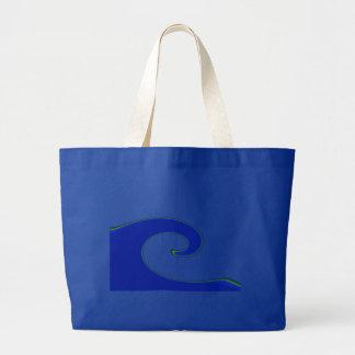 Tidal Wave Tote Bag