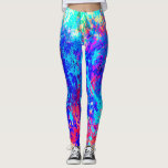 Tidal Waves Leggins Leggings