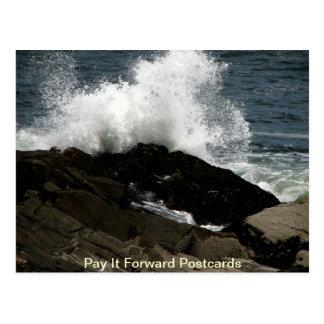 Tidal Waves Postcard