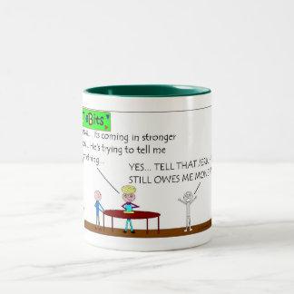 TidBits OWES Two-Tone Coffee Mug