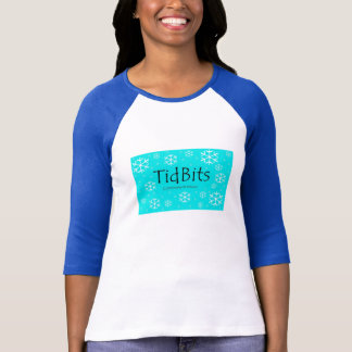 TidBits Winter Snow Bunny T-Shirt