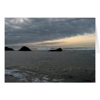 Tide Comes In Greeting Card