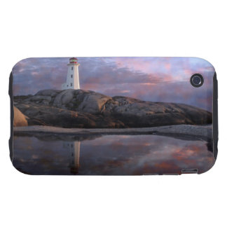 Tide Pool by Lighthouse iPhone 3 Tough Case