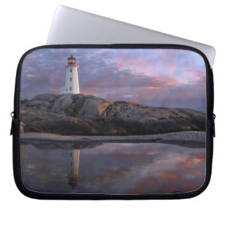 Tide Pool by Lighthouse Laptop Sleeve