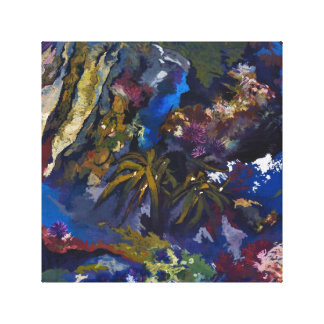 Tide Pool Painting reproduction Canvas Print