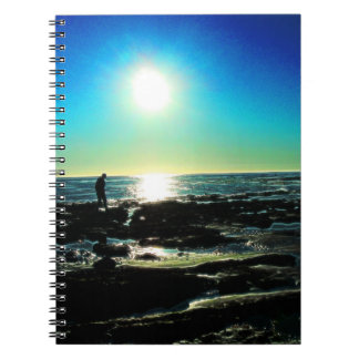 Tide Pool Sunset Notebook