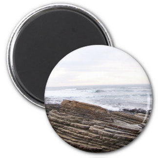 Tide pools 2 inch round magnet