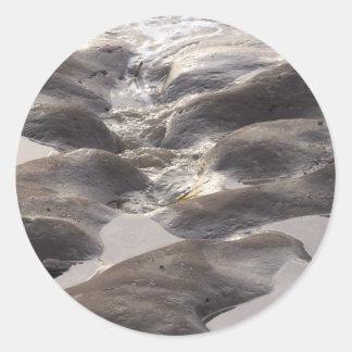 Tide Pools Classic Round Sticker