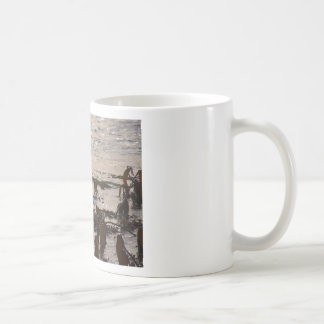Tide Pools White Egret Coffee Mug
