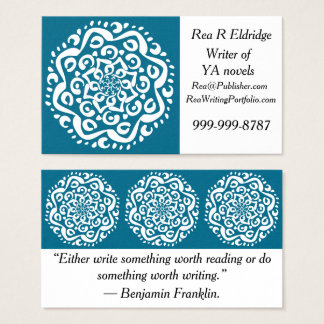 Tidepool Mandala Business Card