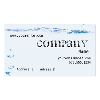 Tides Business Card