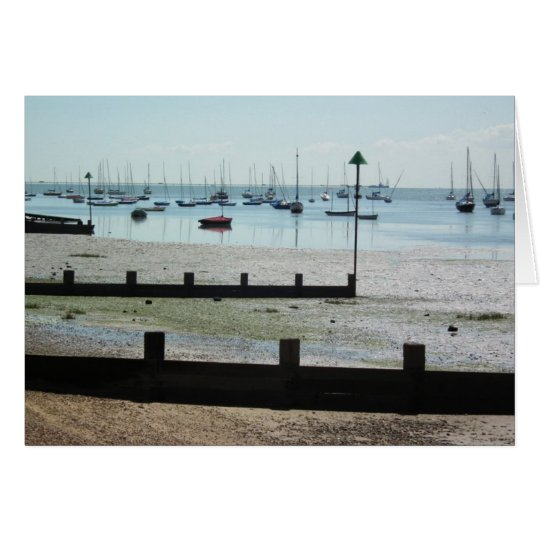 Tide's Out at Old Leigh Card
