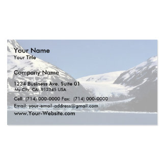 Tidewater Glacier Double-Sided Standard Business Cards (Pack Of 100)