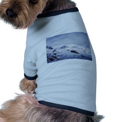 Tidewater Glacier in Prince William Sound Pet Shirt