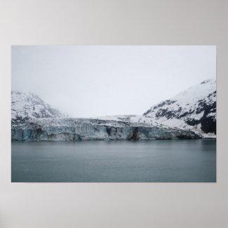 Tidewater Glacier Poster print