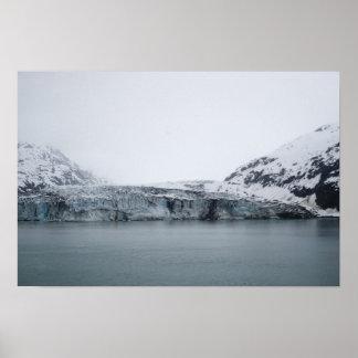 Tidewater Glacier Poster