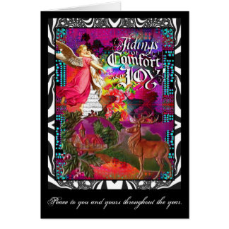 Tidings Of Comfort And Joy Card