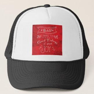 Tidings of Joy by Jan Marvin Trucker Hat