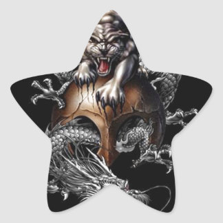 TIDRA DRAGON SLAYER STAR STICKER