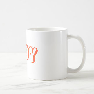 TIDY COFFEE MUG