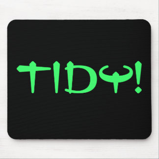 TIDY! MOUSE PAD