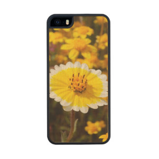 Tidy Tip Wildflowers Carved® Maple iPhone 5 Slim Case