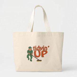 Tidyin Up Large Tote Bag