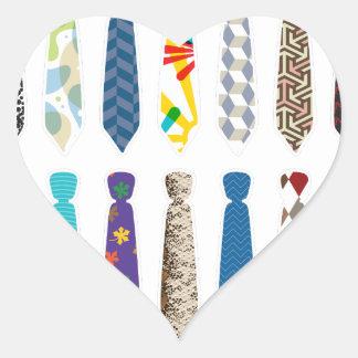 Tie a day white stroke.png heart sticker