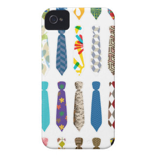Tie a day white stroke.png iPhone 4 case