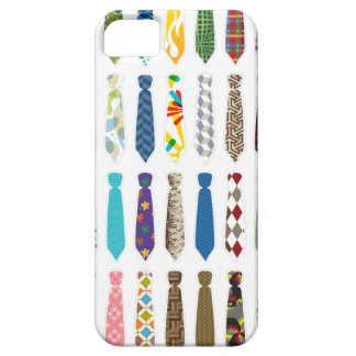 Tie a day white stroke.png iPhone SE/5/5s case