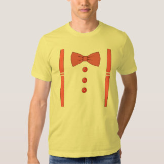 Tie and Suspenders T-shirts
