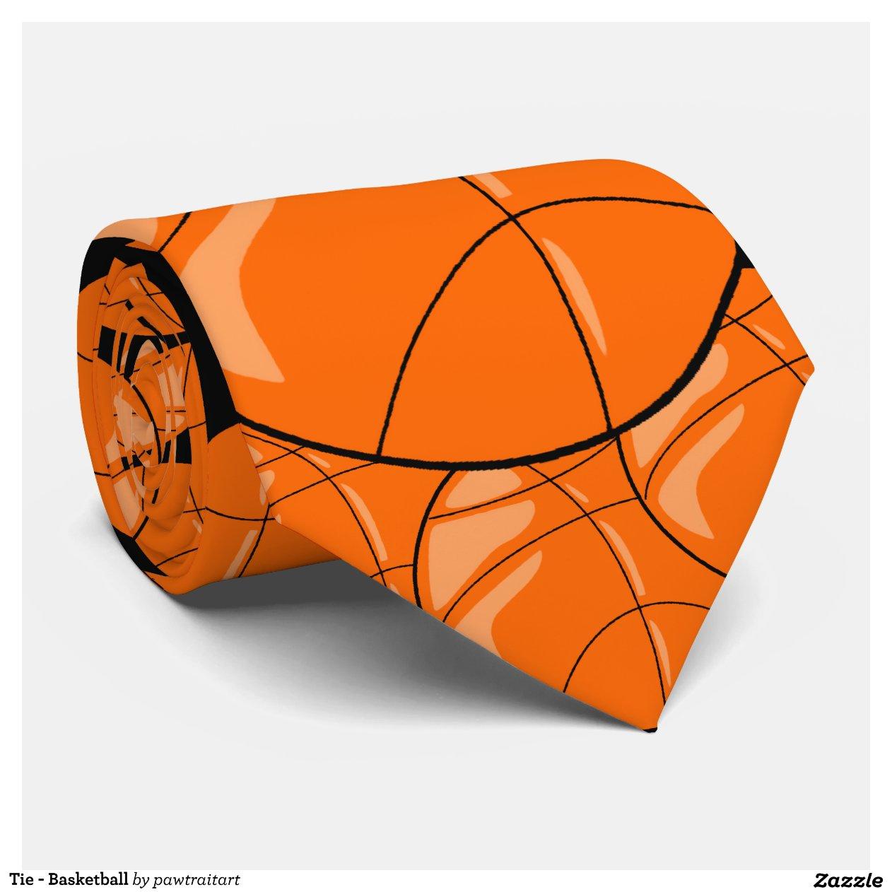 tie basketball zazzle