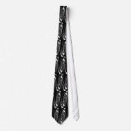 Tie Black & White Style